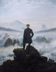 C.D. Friedrich. Der Wanderer. L'horizon