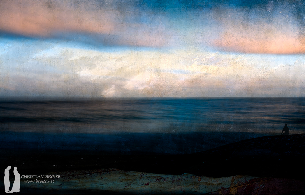 Horizon. Tirage Fine Art original de l'artiste Christian Broise
