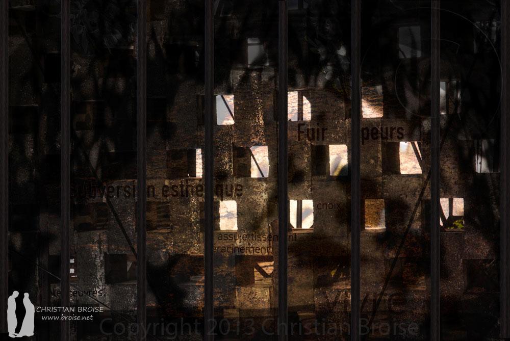 A l'ombre du manguier. Oeuvre originale: tirage Fine Art de l'artiste Christian Broise