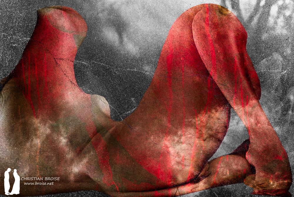 Pandore. Oeuvre originale: tirage Fine Art de l'artiste Christian Broise