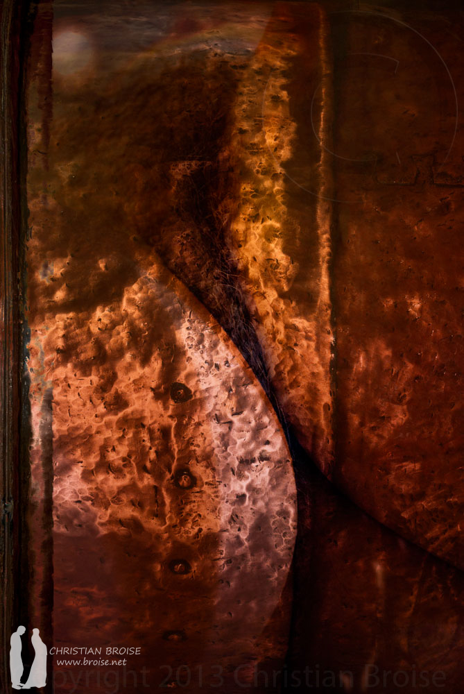 Pasiphaé. Oeuvre originale: tirage Fine Art de l'artiste Christian Broise