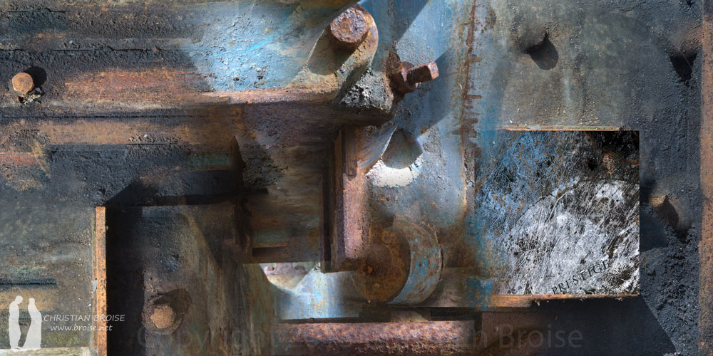 Peinture d'huile. Oeuvre originale: tirage Fine Art de l'artiste Christian Broise