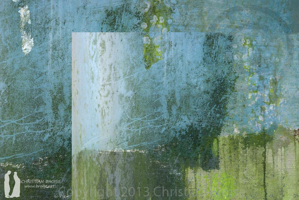 Peinture du temps. Oeuvre originale: tirage Fine Art de l'artiste Christian Broise