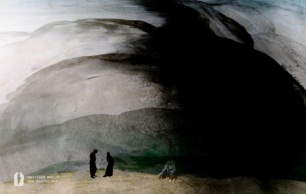 Ulysse. Oeuvre originale: tirage Fine Art de l'artiste Christian Broise