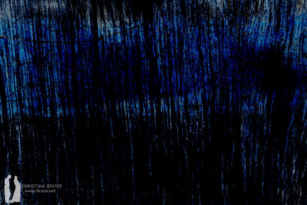 Le sel noir. Oeuvre originale: tirage Fine Art de l'artiste Christian Broise
