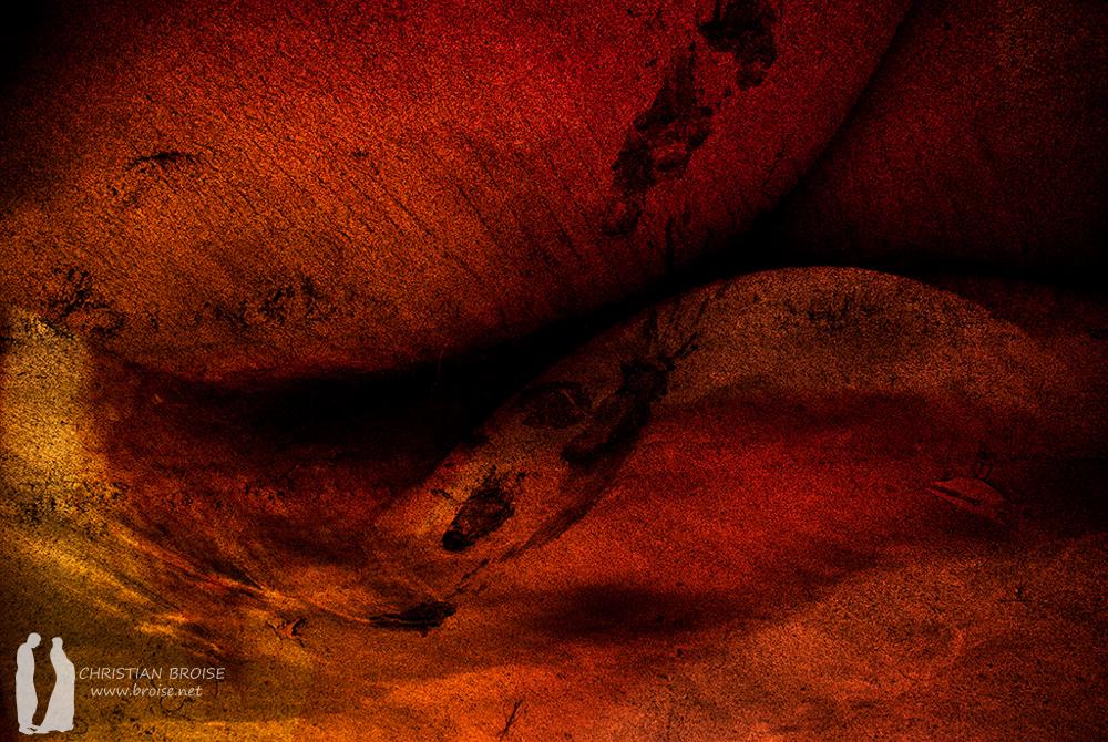 Tentation. Oeuvre originale: tirage Fine Art de l'artiste Christian Broise