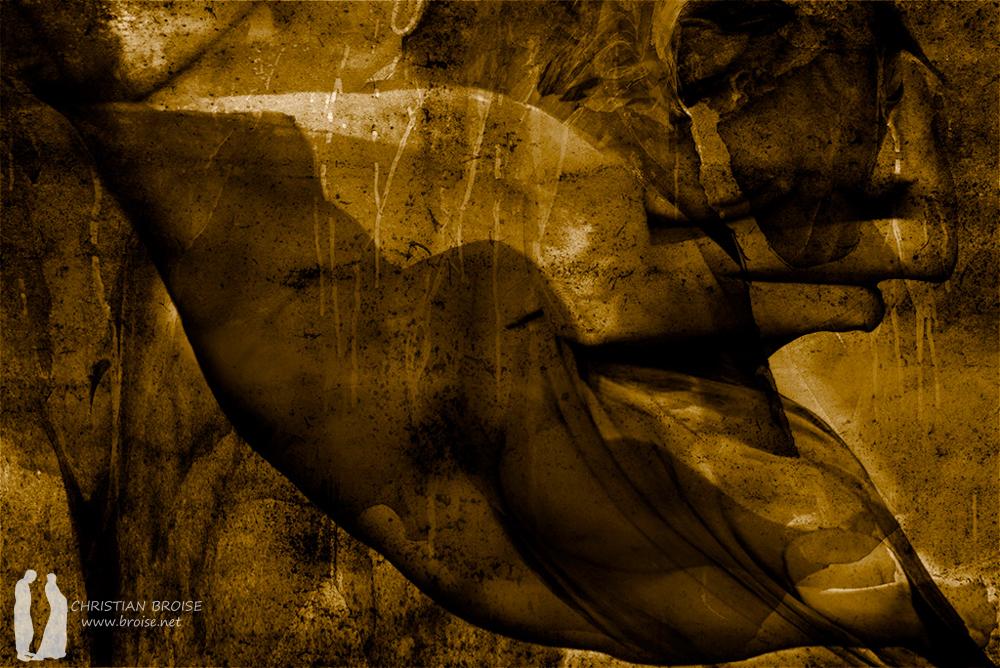 Les filles de Loth. Oeuvre originale: tirage Fine Art de l'artiste Christian Broise