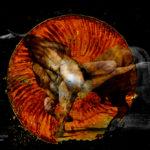 Minotaure. Oeuvre originale: tirage Fine Art de l'artiste Christian Broise
