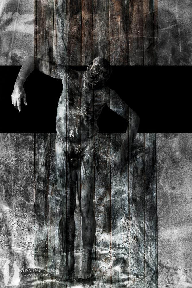 Pyrame. Oeuvre originale: tirage Fine Art de l'artiste Christian Broise
