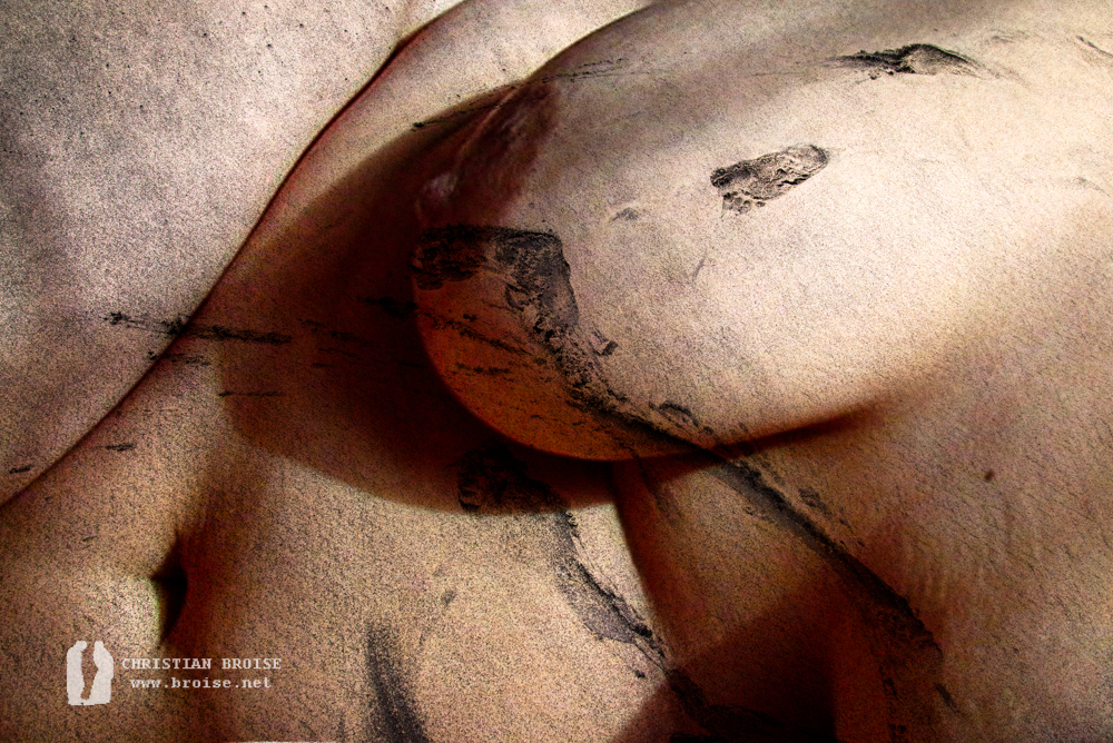 Danaé. Oeuvre originale: tirage Fine Art de l'artiste Christian Broise