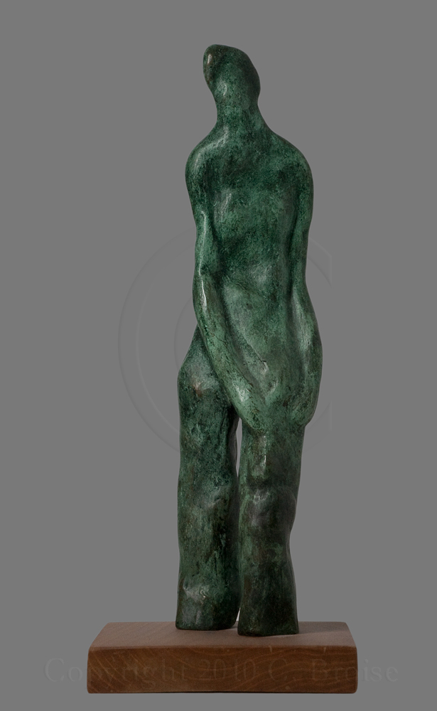 Figure debout 1 (Bronze) de Christian Broise