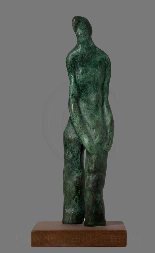 Figure debout 1 (Bronze) de Christian Broise