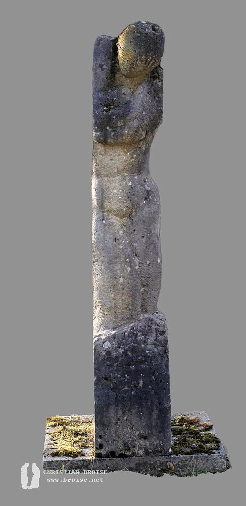 Figure debout 6 (Pierre de Massangis) de Christian Broise