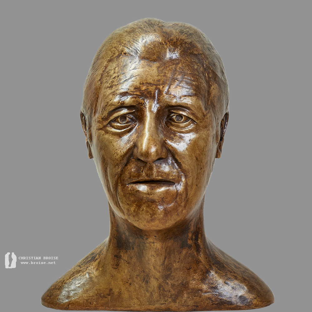 Portrait 1 (Bronze) de Christian Broise