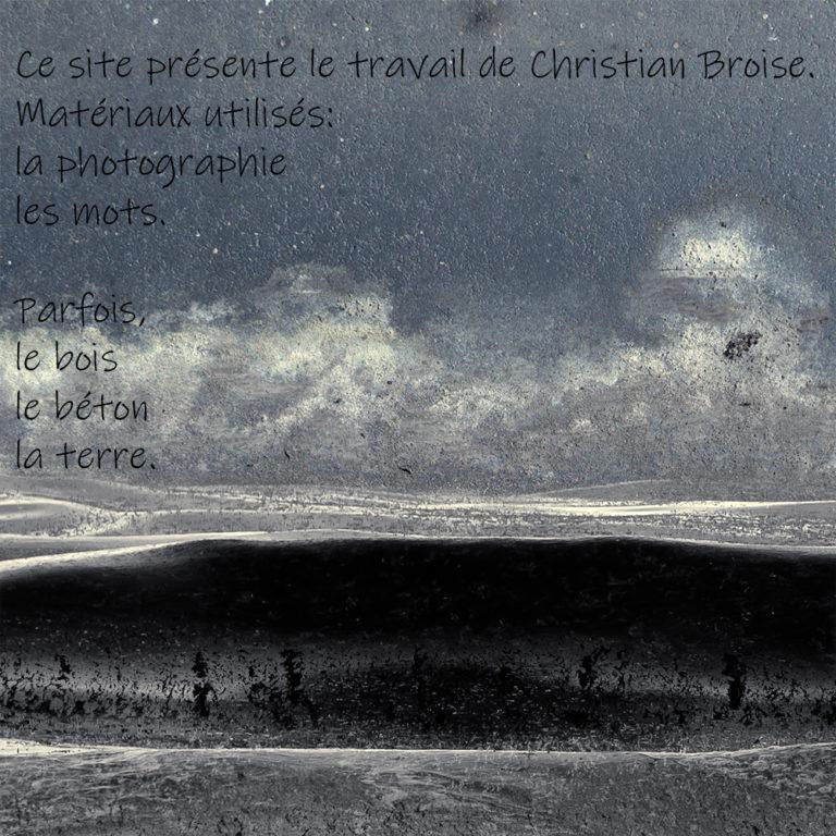 Vague noire. Oeuvre originale: tirage Fine Art de l'artiste Christian Broise