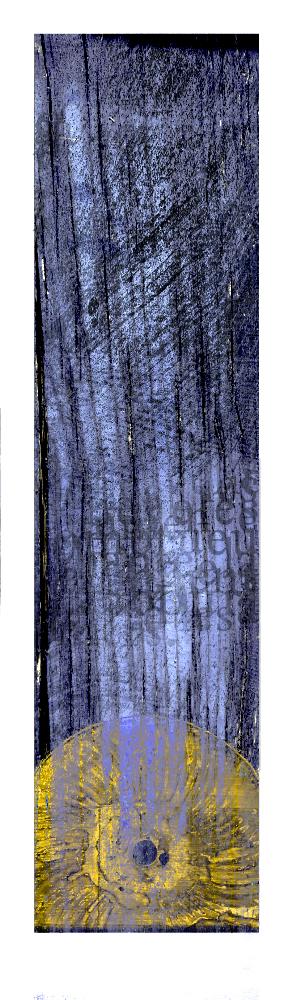 Stèle 3 (motif). Œuvre originale: tirage Fine Art de l'artiste Christian Broise